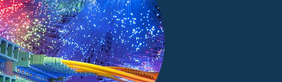 Data, voice, fiber optic cabling